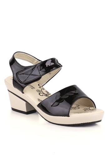 CLARETTE black Clarette Sandal Heels Helene Black CL076SH97KZUID_1