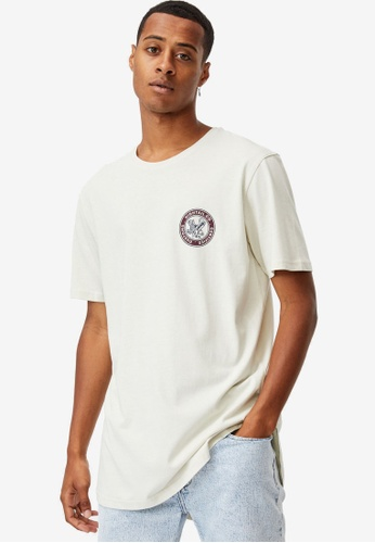 Cotton On white Longline Scoop T-Shirt A4F79AA65D4964GS_1