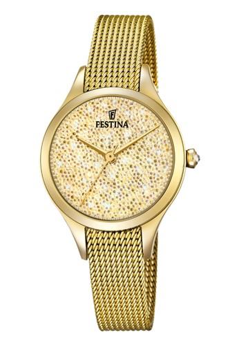Festina gold Casual Women's Watches FES F20337/2 0D2ADACA76D762GS_1