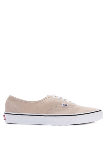 Vans beige Authentic Sneakers B79BBSH739DEF8GS_1