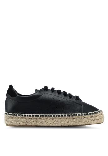 ALDO black Ocarelian Espadrille Sneakers 2A9F1SH356E32CGS_1