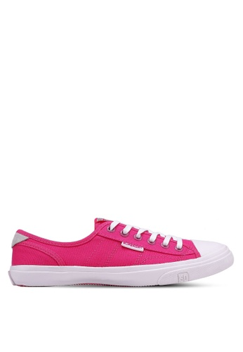 Superdry pink Low Pro Sneakers E5138SH65C0D81GS_1