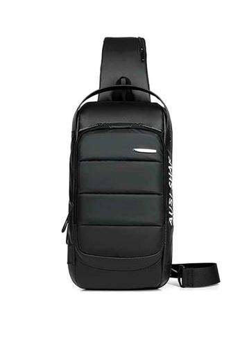Lucky JX black Loki Anti Theft  Cross Chest Body bag 960B4AC9FC9F2DGS_1