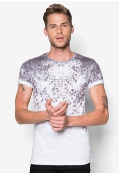 Faded Leopard Print T-Shirt