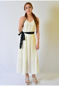 MAXI CHIFFON SIMPLY DRESS
