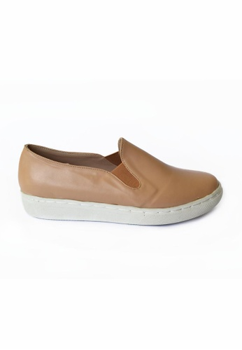 HDY beige Reese Slip-On  Shoes HD484SH48HYLPH_1