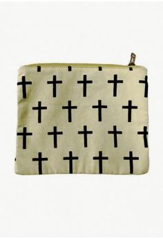 Cross Canvass Pouch