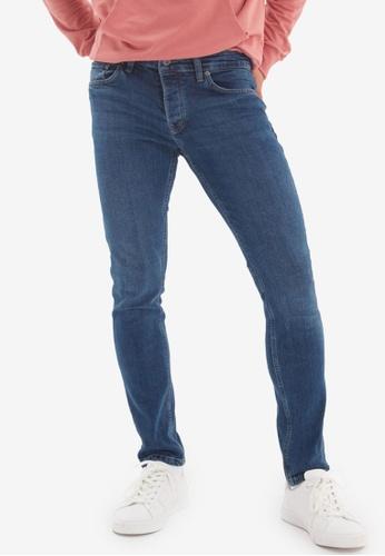 Trendyol blue Indigo Skinny Jeans A3920AA0F3CA6AGS_1