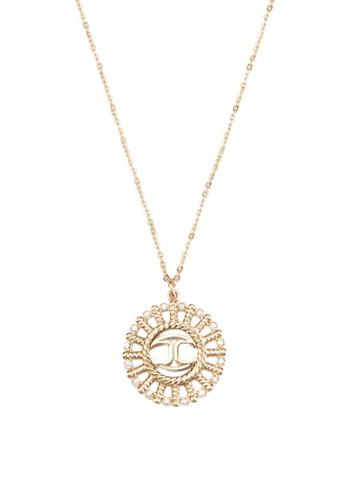 Jusesprit hkt Sun Scagb02 太陽吊墜耳環, 飾品配件, 飾品配件