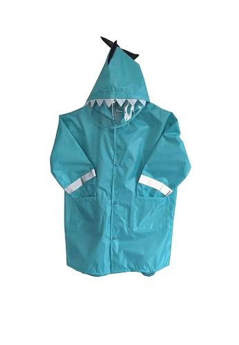 Twenty Eight Shoes blue VANSA  Stylish Dinosaur Raincoat VCK-R1 7B0B7KAAC8813CGS_1