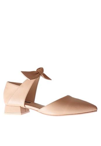 Twenty Eight Shoes beige Chic Bow Low Heel Shoes VL9032 C3B29SH061A6C7GS_1