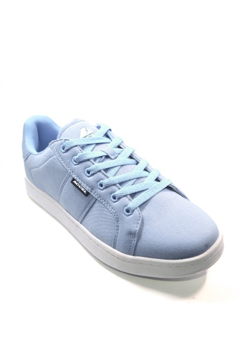 ACCEL white and blue CS Hyperlite Twill  Skate Shoes 04910SHE966C62GS_1