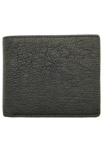 LUXORA black The Ninja Co. Coin Pocket Wallet - Full Grain Leather Cowhide - Card Men Women Purse Gift Black 3C4EBAC2F925FEGS_1