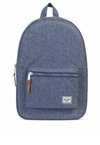 Herschel blue Settlement Backpack HE958AC0KA56PH_1