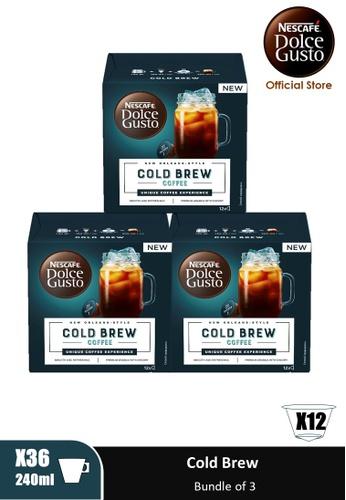 NESCAFE Dolce Gusto [3 Boxes] NESCAFE Dolce Gusto Cold Brew Capsules (12 servings Per Box) ED107ESFDF2392GS_1