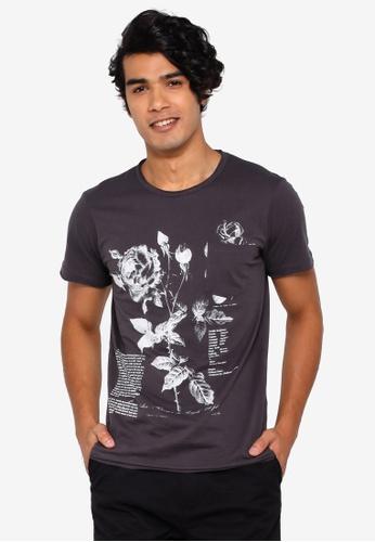OVS 灰色 口袋T恤 2016FAAE38C0B0GS_1