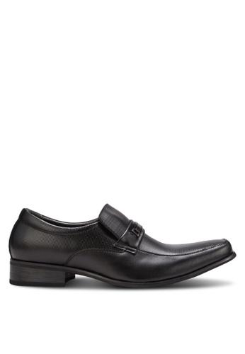 Spiffy black Business Shoes SP352SH83IOEMY_1