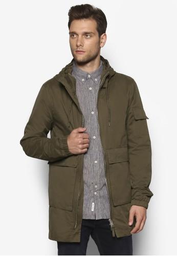 輕量雙口袋拉鍊大衣, 服飾esprit台灣, 服飾