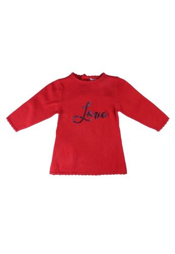 Babybol red Baby Dress DAEFCKA2C0E89DGS_1