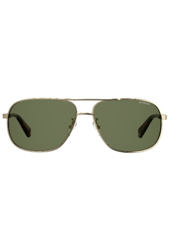 Polaroid PLD 2074/S/X Sunglasses 07BADGLEE224DBGS_1