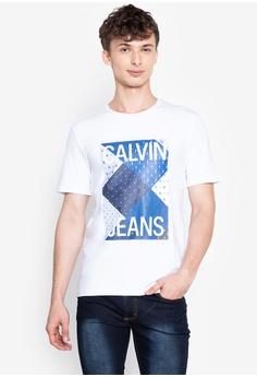 62720d8e Calvin Klein white Men's T-shirt 5EC68AA2E1978CGS_1