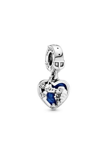 PANDORA silver Pandora Disney Lady and the Tramp Heart Dangle Charm 18929AC6EFE73DGS_1