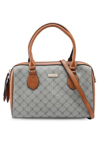PLAYBOY BUNNY brown Ladies Handbag 359E6AC9F039C2GS_1