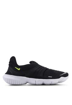 low priced 90bd9 530f2 Nike black Women s Nike Free RN Flyknit 3.0 Shoes B51B6SHC310653GS 1