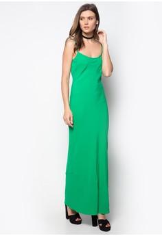 Bias Cut Maxi Dress