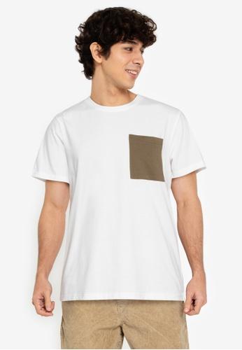 ZALORA BASICS multi Contrast Pocket T-Shirt 724F7AA88E3BCDGS_1