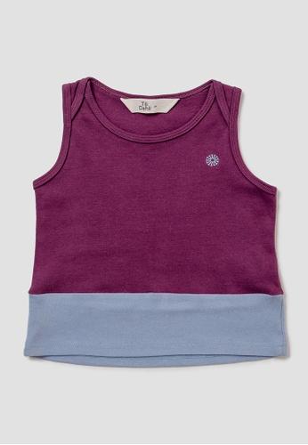 Tili Dahli purple Sunny Singlet - Grape B93E5KA27E83CFGS_1