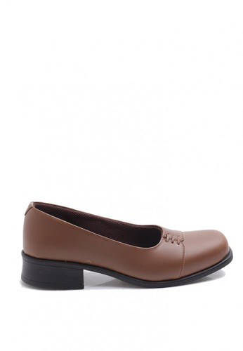 Dr. Kevin Women Dress & Bussiness Formal Shoes 65140 - Coffee