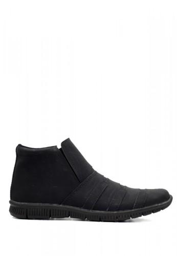D-Island black D-Island Shoes Office Slip On Mens High Black 62D7ASH6DA033DGS_1
