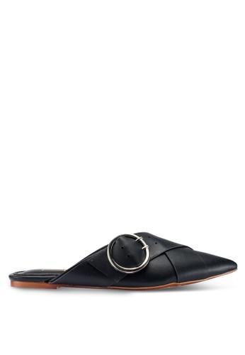 Berrybenka 黑色 Rena Octo 平底鞋 AB0C9SH7570935GS_1