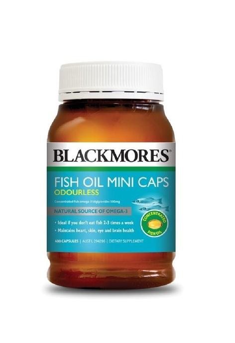 BLACKMORES Blackmores - 深海魚油 迷你膠囊 (無魚腥味) (400粒)