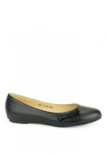 Cardam's Lifestyle black Mary Flat Shoes 6F4E6SHCE7450FGS_1