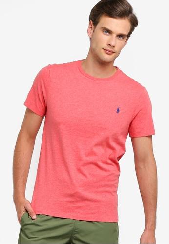 6df553246 Polo Ralph Lauren red Short Sleeve Crew Neck Slim T-Shirt DDB7EAA71E07D6GS_1