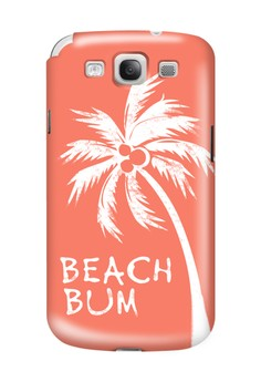 Beach Bum Matte Hard Case for Samsung Galaxy S3