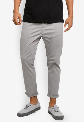 Cotton On grey Drake Roller Pants 2AC90AA29A653FGS_1
