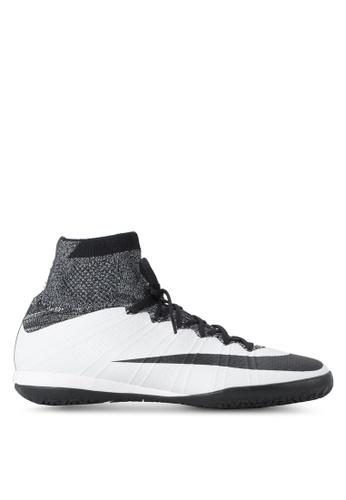 Nike black and white Nike MercurialX Proximo (IC) Shoes NI126SH43NLGSG_1