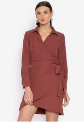 Susto The Label red Julissa Cascade Dress 640A1AA84E100BGS_1