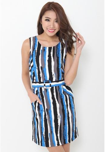 Leline Style blue Chloe 2 Way Dress LE802AA60ETRSG_1