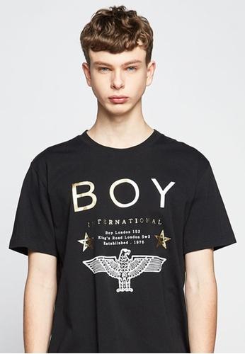 BOY LONDON black BOY LONDON STAR BOY T-SHIRT 03307AA064117BGS_1
