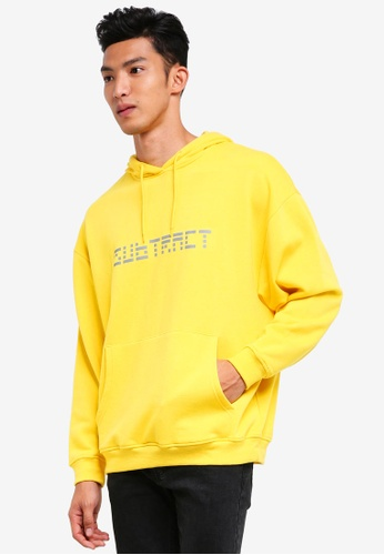 Factorie 多色 Oversized Hoodie With Print 0FF4EAA5E22F65GS_1