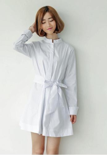 Shopsfashion white Senna Flare Dress in White SH656AA94VMVSG_1
