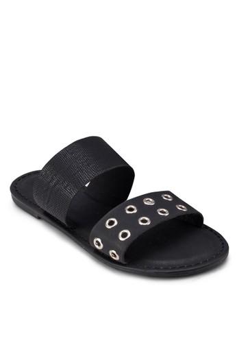 Kzalora是哪裡的牌子endall 雙寬帶涼鞋, 女鞋, 鞋
