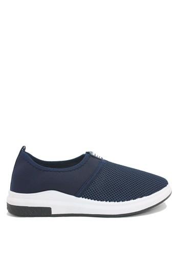 Dr. Kevin blue Dr. Kevin Men Sneaker Slip On 13316 - D.Blue DR982SH0VHYJID_1