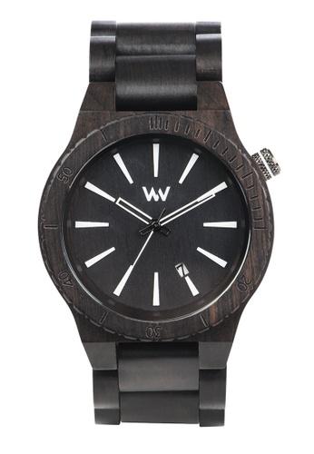 WEWOOD black Assunt Black Watch 46mm 646F6ACBF042E1GS_1