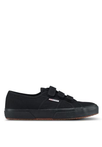 Superga black Cot3Strapu Sneakers AF51ASH6C596F7GS_1