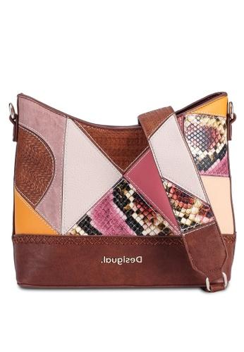 Desigual brown Ayax Galati Bag 94D2EAC8ED3897GS_1